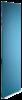 Endegavl for vægskinne reol 1380×400 laminat