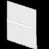 Ikon bagbeklædningen 750 x 2430 mm