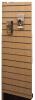 Deco rillepanel i træfiner for dobbeltsøjle reol 1200×300
