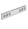 Beslag for stål Decorgavl for Enkeltsøjle reol (sæt)