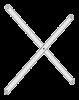 Ikon afstivningkryds (par) 750 mm